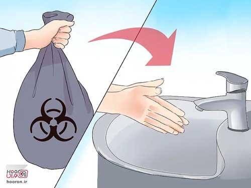 4 روش ضدعفونی و استریل کردن دست ها