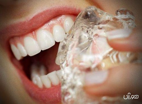 دندان و یخ
