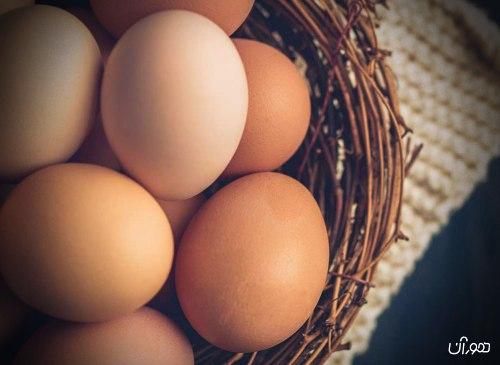 قند خون و تخم مرغ