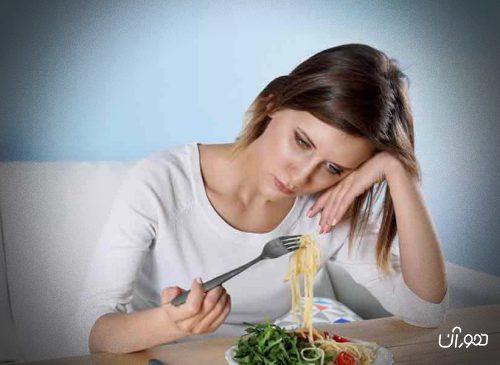 تغذیه و اضطراب